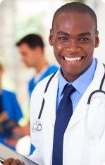 A black american doctor